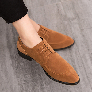 Leather Men oxfords Mens Shoes