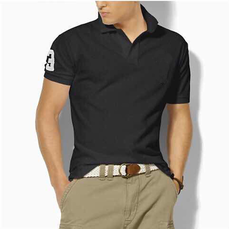 Hombre Big Pony Polo Top Men Short Sleeve Casual Rugby Shirt Camisa Embroidered Homme Polo Masculine Mens Polo Shirt Brands