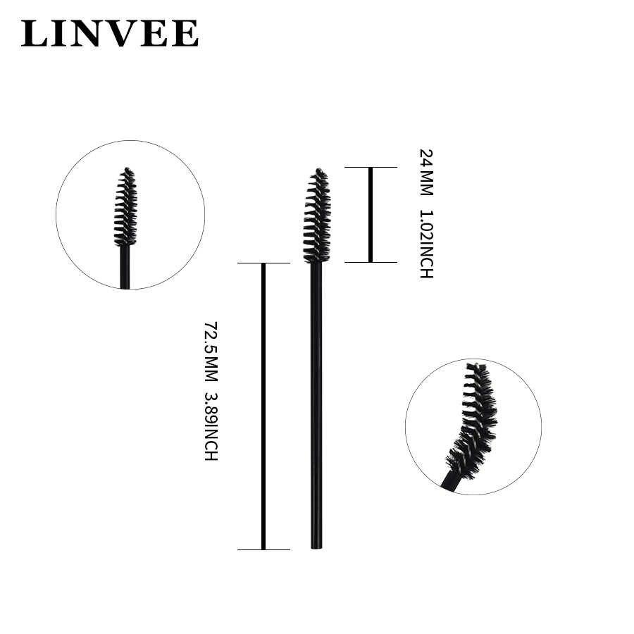 50/150 Stuks Wimper Extension Micro Borstels Kam Wands Eye Lash Wenkbrauw Applicator Draagbare Eenmalige Make Up Gereedschap Dagelijks cosmetica