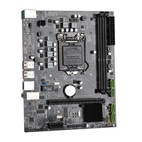Durable Mini Motherboard USB2.0 Home Desktop Computer Mainboard PCI E 16X LGA1156 SATA DDR3 Solid State Accessories For I3 I5 I7