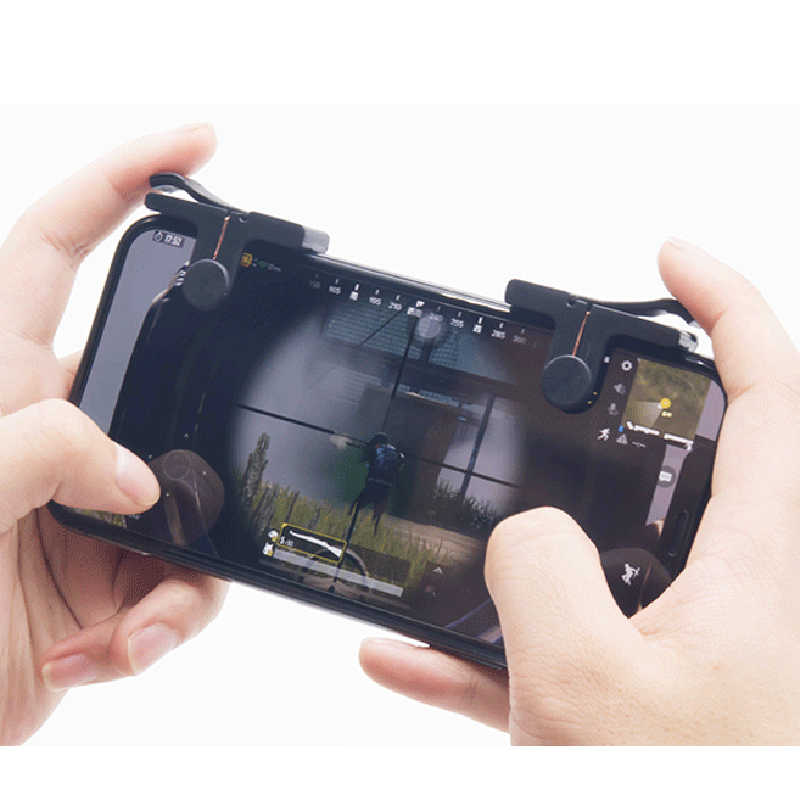PUBG teléfono móvil tirador controlador gatillo para juegos juego fuego botón manija Gamepads