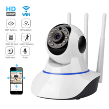 купить Home Security IP Camera Wi-Fi Wireless Mini Network Camera Surveillance Wifi 720P Night Vision CCTV Camera Baby Monitor дешево