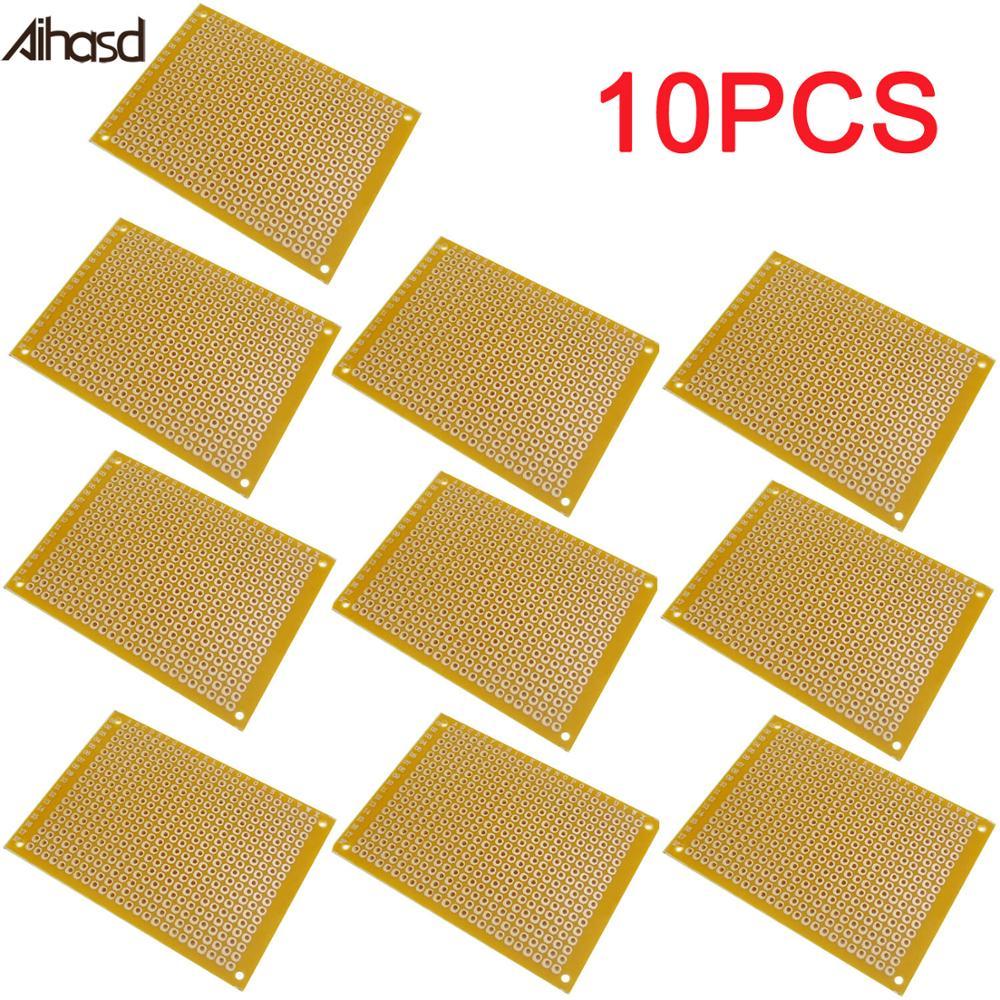 10PCS/LOT 5cm*7cm 5*7CM Universal Board Experimental Plate Circuirt PCB Hole Bread Board Breadboard