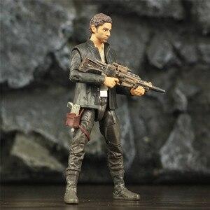 "Image 4 - SW 6"" Captain POE Dameron Action Figure Movie TLJ Original Black Series Collectable Wars Doll Toys Model"