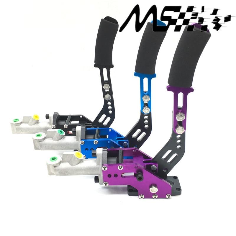 Universal aluminum Racing handbrake Car Hydraulic Handbrake drift hand brake parking color red/blue/purple/black|brake disk|parking brake switch|brake kit - title=