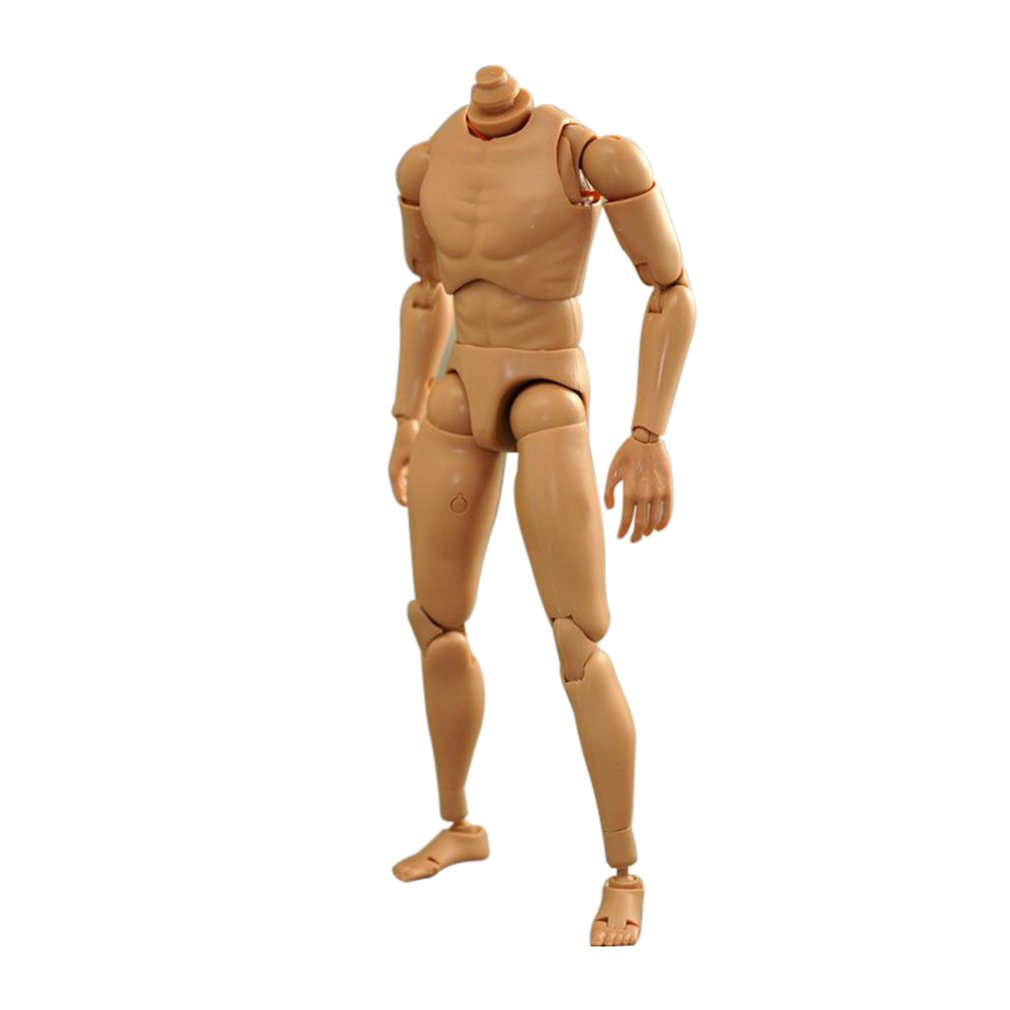 HOT FIGURE TOYS 1//6 Body is B007 narrow-shoulders man's body Higher version