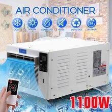 1100W klimatyzator 220V/110V przenośne zimna/ciepła podwójnego zastosowania 24-licznik godzinowy 2 biegów oświetlenie sterowanie LED panel z pilot zdalnego sterowania