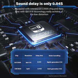 Image 2 - Dacom GH02 Draadloze Hoofdtelefoon Apt X Bluetooth Headset Rgb Verlichting 3D Stereo Muziek Oortelefoon Ingebouwde Microfoon Voor Iphone Samsung