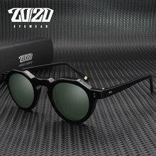 20/20 acetato polarizado unisex óculos de sol design marca fabricante para homem e mulher óculos de sol at8181 occhiali da sola donna