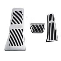 Auto Zubehör ZU Accelerator Bremse Fuß Rest Pedal Pads Für BMW X5 X6 Serie E70 E71 E72 F15 mit logo