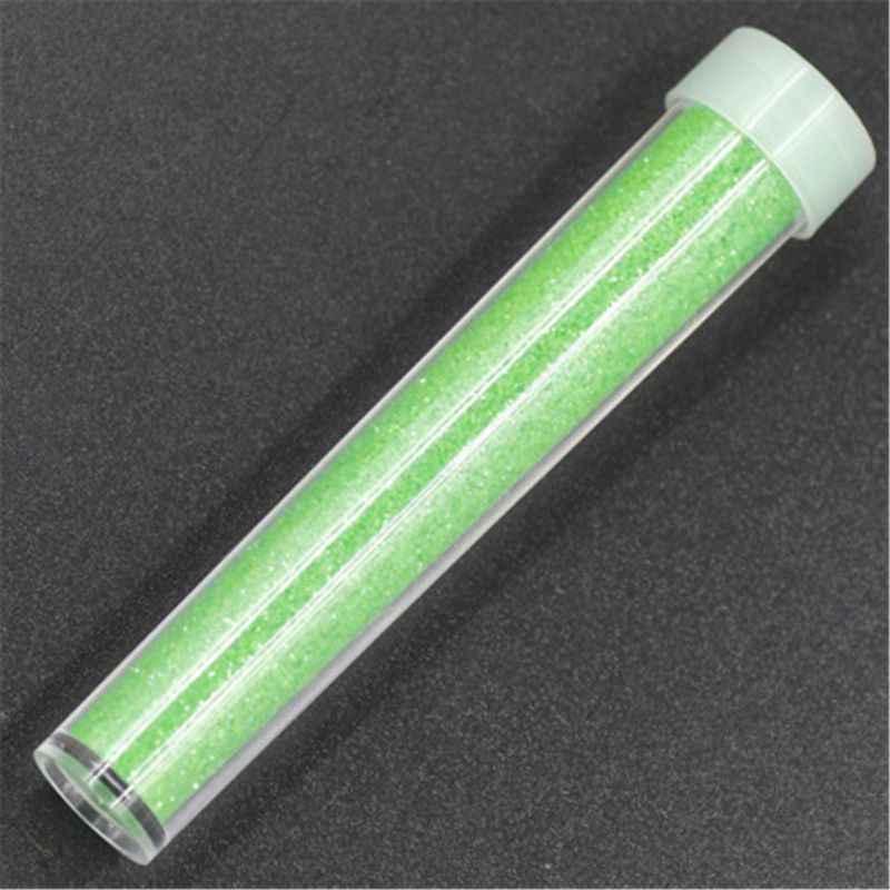 Glitter toz malzeme Glitter balçık aksesuarları kabarık balçık kristal çamur kil DIY N21_F
