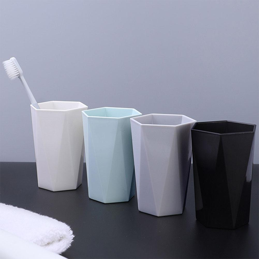 Nordic Plastic Cup Tooth Mug Toothbrush Holder Washing Drinking Home Bathroom Tooth Mug Bathroom Tumblers