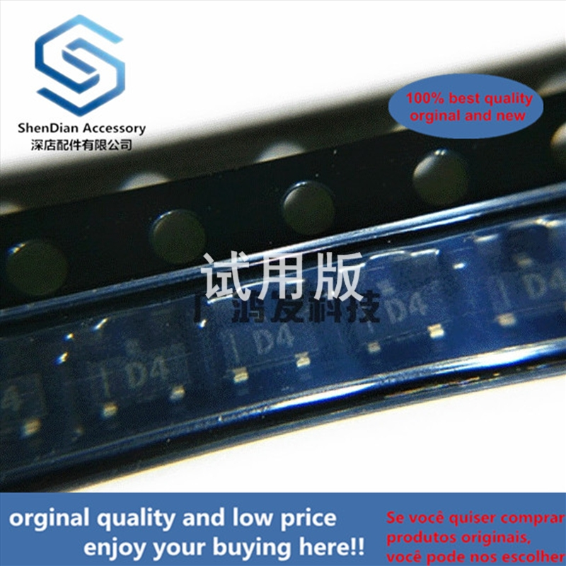 10pcs 100% Orginal New SPX2431M-L-TR Voltage Reference IC SOT-23 Silkscreen D4