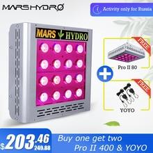 Mars Pro II Epistar 80 LED Grow Light Panel Hydroponics Full Spectrum Veg Flower цена в Москве и Питере