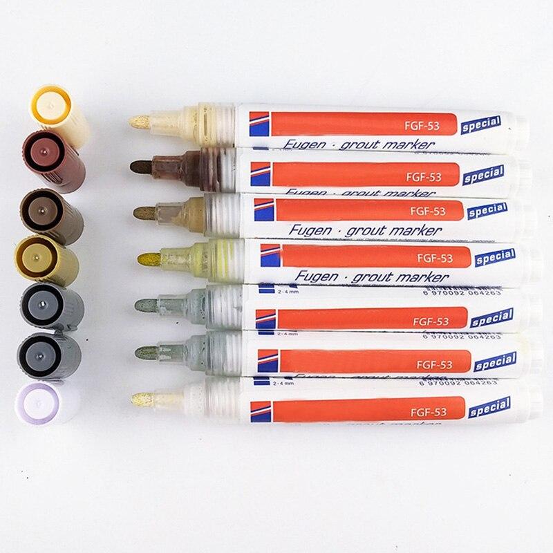 Tile Grout Coating Marker Wall Floor Ceramic Tiles Gaps Professional Repair Pen LB88