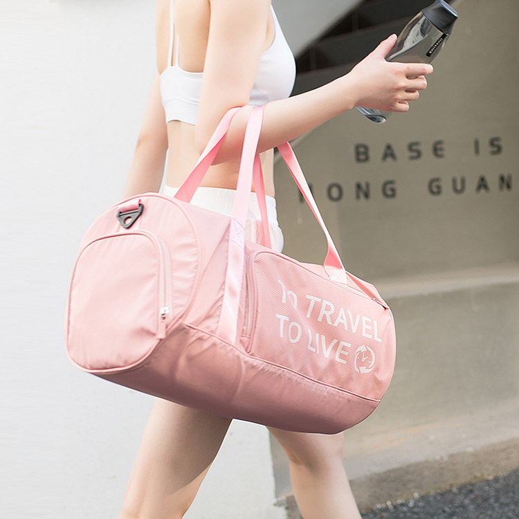 Women Fitness Bag Dry and Wet Separation Yoga Sports Bag Shoulder Messenger Bag Handbag Travel Gym Bags Men Beach Crossbody Bag