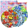 Big Size Popper Bubble Push Large Square Fidget Pack 100 Pops Silicone Sensory Toys Autistic for special needs adhd autism toys