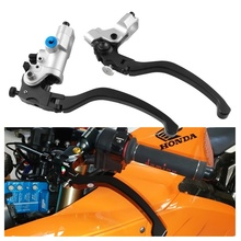 Motorcycle Hydraulic Brake Clutch CNC Pump Handle Cable Adjustable Modified