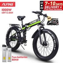 ALFINA FX-01 vélo Électrique ebike 48V1000W électrique VTT 40 km/h 4.0 gros pneu électrique Vélo De Plage vélo électrique