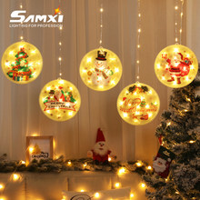 LED String Light Room Decoration Accessories Christmas Hanging Lights USB Plug Holiday Lamp Merry Christmas LED Lamps For Home