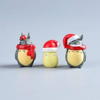 Аниме фигурки Тоторо Рождество 1