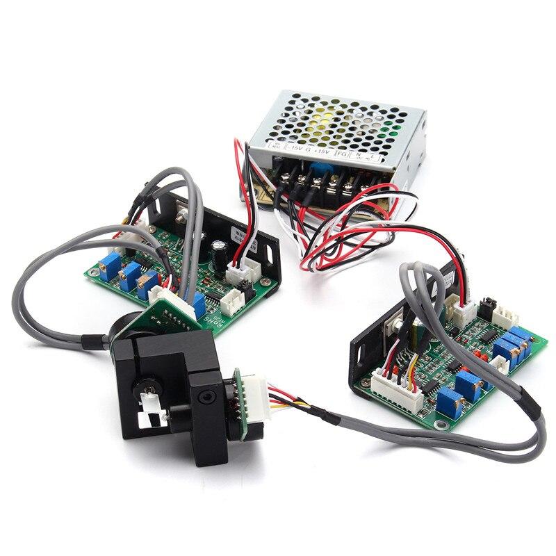 20Kpps 1 Set Galvanometer Scanner 15V Laser Scanning Galvo  Based Optical Scanner Set For DJ Laser Light Show  Lighting