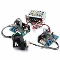 20kpps 1 Set Scanner Galvanométrique 15V Balayage Laser Galvo Basé Optique Scanner Ensemble Pour DJ Lumière Laser D'éclairage D'exposition