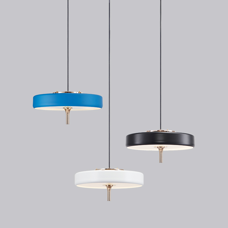 Modern Creative Adjustment Single Head E14 Pendant Lamp Nordic Diy Combination Metal Pulley Design Bedroom Decoration Led Light