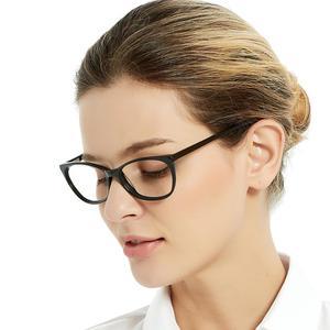 Image 3 - Spedizione gratuita moda acetato occhiali fatti a mano prescrizione lente medica occhiali da vista donna e uomo telaio ZOU