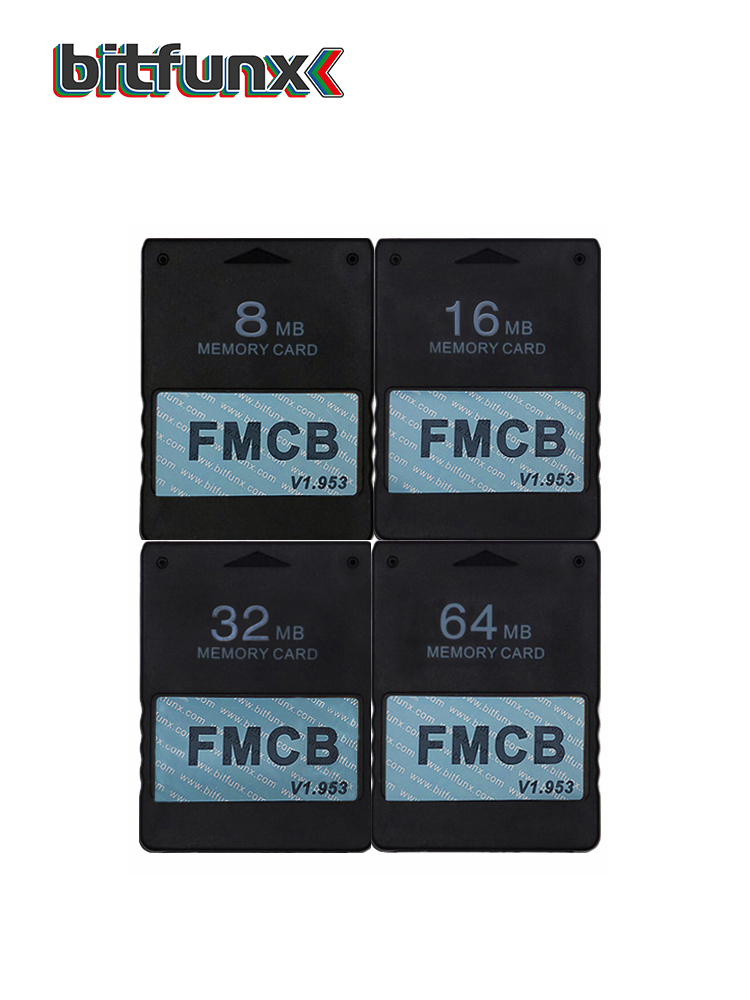 Bitfunx Free-Mcboot-Card PS2 Sony OPL V1.953 FMCB for 32MB/64MB