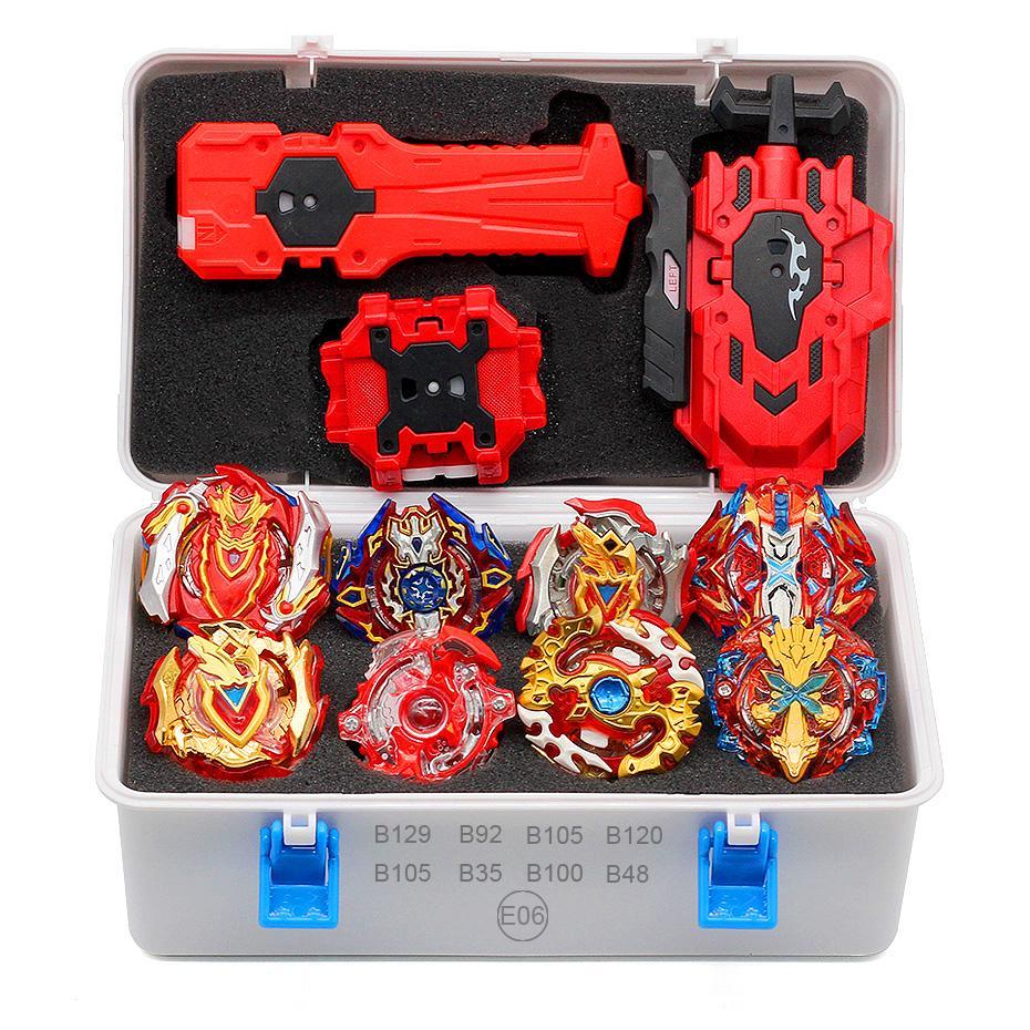 TAKARA TOMY Encabeça Lançadores Beyblade Estourar Conjunto Brinquedos com Partida e Arena de Bayblade Deus Metal Spinning Top Bey Lâmina Lâminas brinquedos