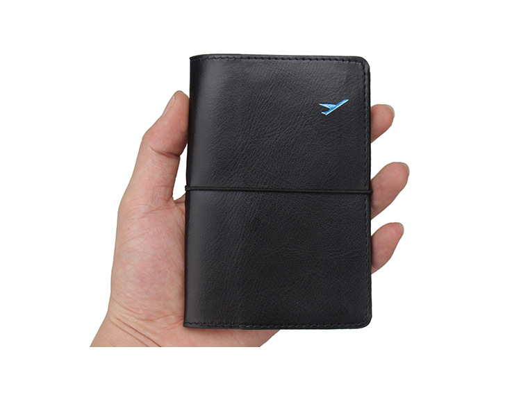 ALAZA Retro Unicorn Sakura Leather Passport Covers Holder Case Protector