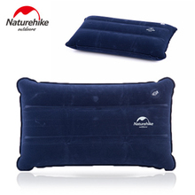 Naturehike non-slip velvet inflatable pillow outdoor travel compression folding pillow NH18F018-Z