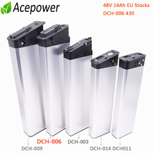 48V Ebike Battery 48 V 10.5Ah 12.8Ah 14Ah 36V 10Ah 12.5Ah 17.5Ah Folding Built-in Electric