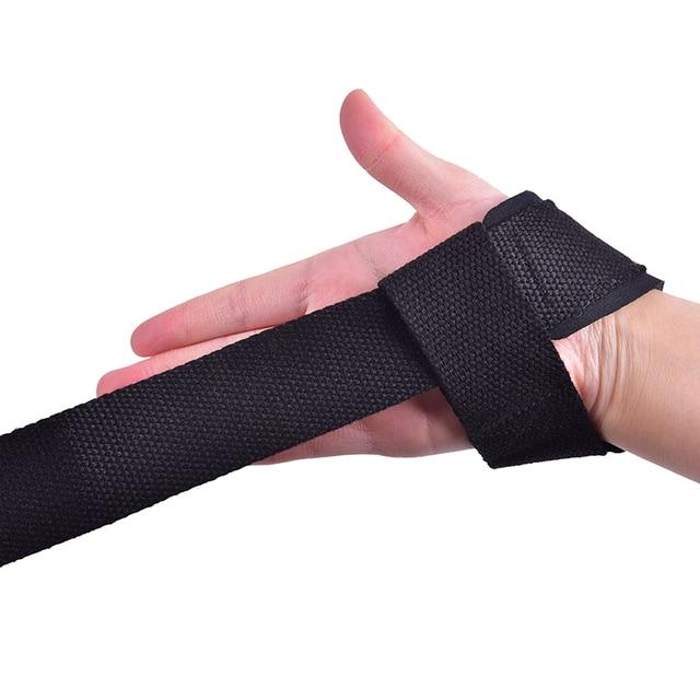1xWeightlifting Bracers Powerlifting Wristband Gym Lifting Straps Weightlifting Wrist Weight Belt Bodybuilding Fitness Straps Uncategorized
