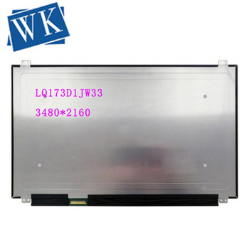 """LQ173D1JW33 LCD Screen LED Display 17.3"""" 3840×2160 UHD 40pin IPS Matrix Panel Replacement Tested Grade A+"""