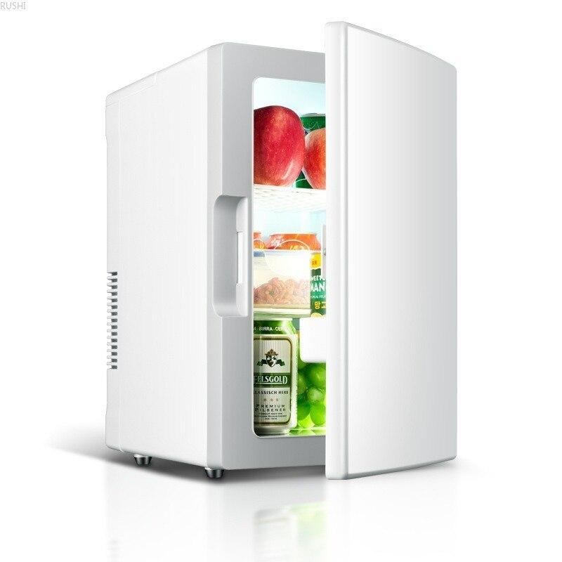 12V 220V 18L Home Car  Warm Cold  Mini Refrigerator Portable  Mini Fridge  Refrigerators  Mini Fridges  Car Fridge  Refrigerator