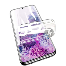Hydrogel Sheet Film For Samsung Galaxy Note 20 Ultra S21 A51 S9 S8 Plus protector film for samsung S20 FE 20 Ultra Note 10 plus