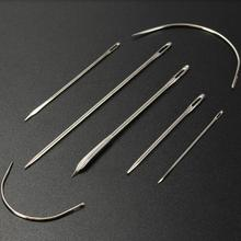 Sewing-Needles Crafts Stainless-Steel Household DIY Home for Carpet Canvas Pins-Set Different-Sizes