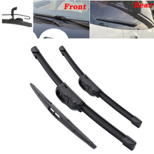 Car Front & Rear windshield wipers wiper Windscreen Front Window wipers blades For Mazda 2 / Demio 2007 2008 2009 2010  2014