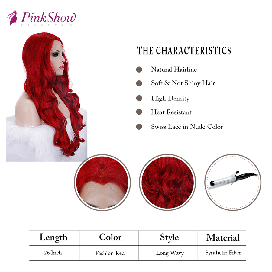 red wig 44