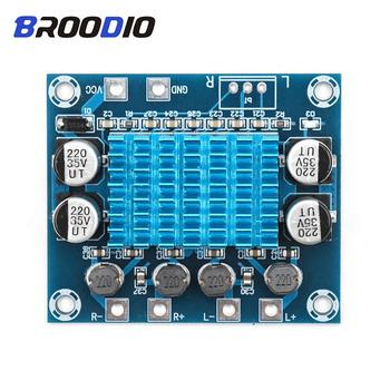 Wysokiej jakości wzmacniacz audio moduł MP3 amp DC8-26V rozwiń płytę rezonansową podwójny kanał 30W wzmacniacze klasy D Diy wzmacniacz zarządu tanie i dobre opinie Broodio Inne Odtwarzacze MP3 Akcesoria Zestawy Amplifikacji Głośnik mp3 lossless decoder board mp3 module mp3 decoder