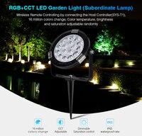 MiBOXER SYS RC1 9W RGB + CCT LED Garten Licht DC24V Untergebenen Lampe IP65 Wasserdichte Eingesetzt gras lampe scheinwerfer-in LED-Gartenlampen aus Licht & Beleuchtung bei