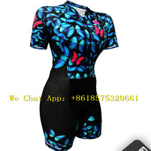 Pro Team Triathlon Suit Women's Cycling Jersey Short Sleeve Skinsuit Jumpsuit Maillot Cycling Ropa ciclismo set pink gel pad цена и фото