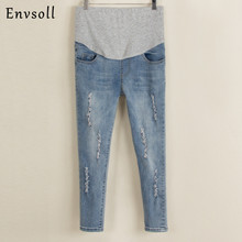 2017 New Maternity Jeans Summer Winter Multi style Jeans Pants for Pregnant Women Elastic Waist Jeans