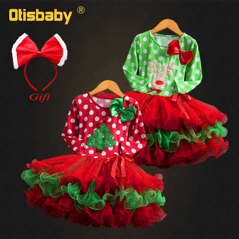 <font><b>Christmas</b></font> Toddler <font><b>Girls</b></font> Tulle Tutu <font><b>Dress</b></font> <font><b>Red</b></font> Dot <font><b>Christmas</b></font> Tree <font><b>Dress</b></font> Infant <font><b>Long</b></font> <font><b>Sleeve</b></font> New Year Party <font><b>Dress</b></font> 1 2 3 4 5 6 Years image