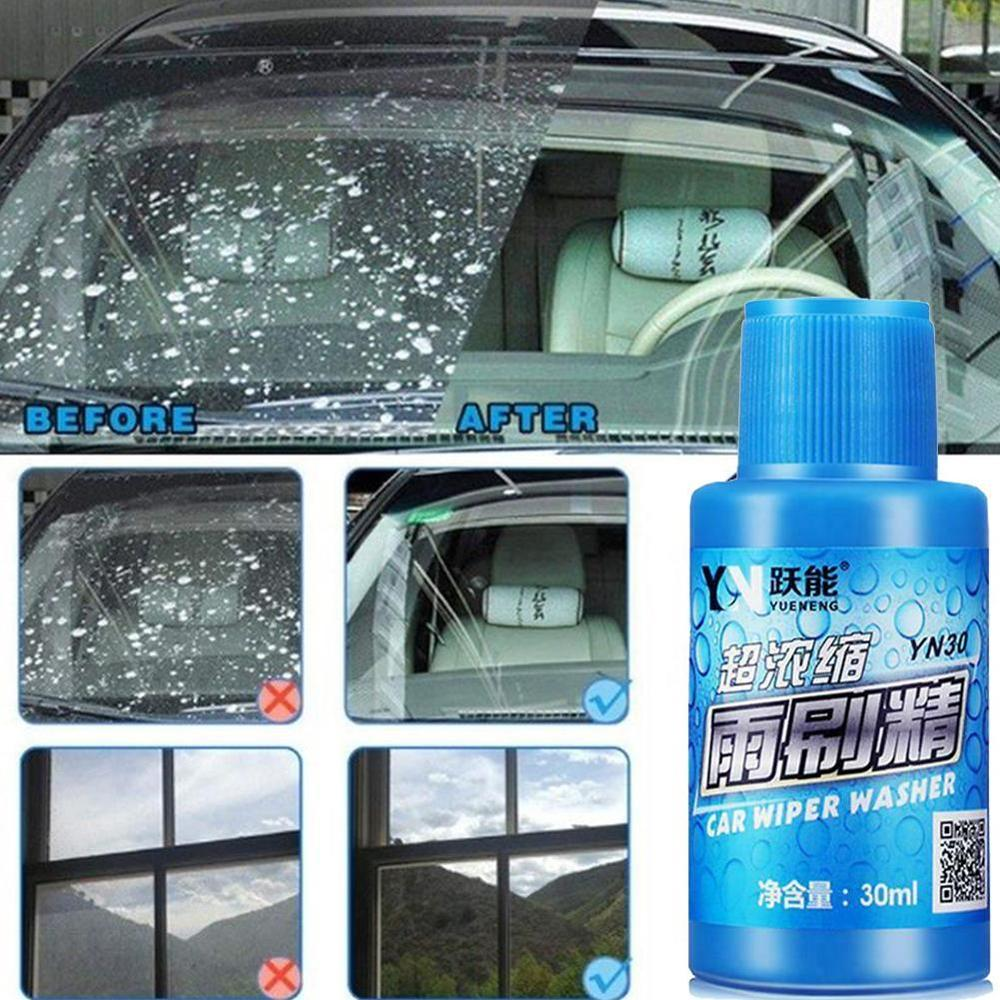 Auto Window Cleaner Car Windshield Cleaning Wash Wiper Effervescent Tablets Car Accessories Glass Cleaner Solid Wiper Fine Clear