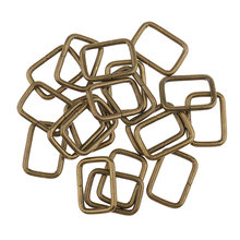 20 штук высокое качество металлическая квадратная пряжка сумка