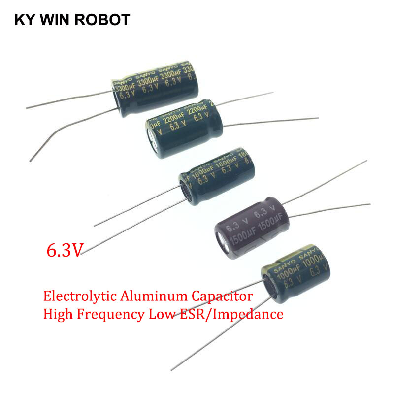 50PCS 220uF 25V  Aluminum Radial Electrolytic Capacitor 8X12MM