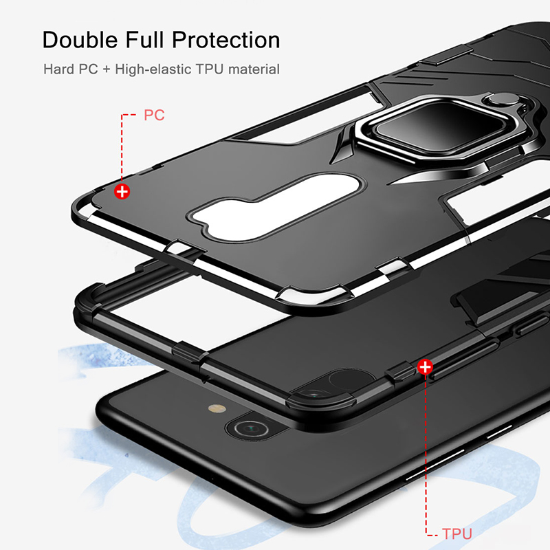KEYSION Shockproof Case for Redmi 9A 9C Note 8 Pro in Accra, Ghana 6